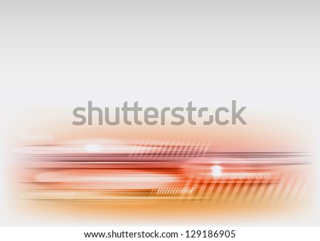 abstract tech background on the light grey - stock vector