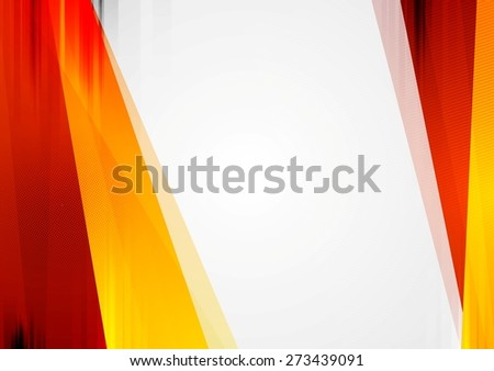 Abstract tech bright background. Vector corporate design - stock vector