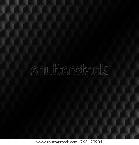 Abstract Technology Background Black Texture With Shadow Simple Carbon Metallic