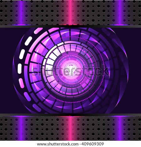 Abstract Technology background for computer graphic website and internet. Vector - stock vector