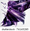 Abstract technology futuristic high-tech design for unusual fabulous backgrounds. Vector eps 10. - stock photo