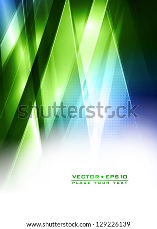 Abstract technology lines. Vector - stock vector