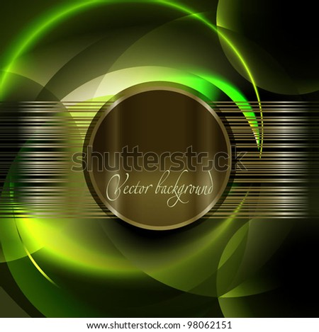 Abstract technology lines vector background. - stock vector
