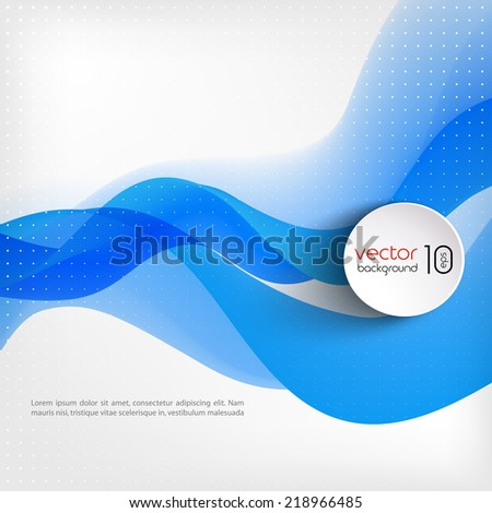 Abstract template background - stock vector