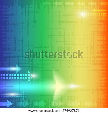 Abstract texture background with arrows - stock vector