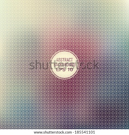 Abstract texture with dots. Vector illustration. - stock vector