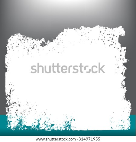 Abstract textured grunge background with space for text - stock vector