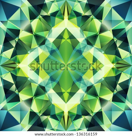 Abstract Triangle Background, seamless pattern. Seamless pattern can be used for wallpaper, pattern fills, web page background,surface textures. - stock vector