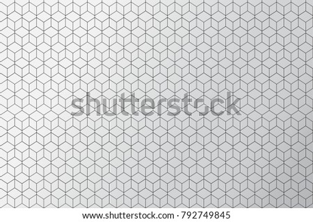 Abstract triangle background, vector template
