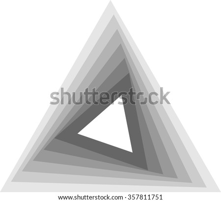 Abstract Triangle Geometrical Background . Modern Geometrical Design Template .  - stock vector