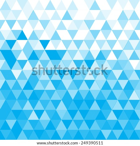 Abstract Triangle Geometrical Multicolored Background, Vector