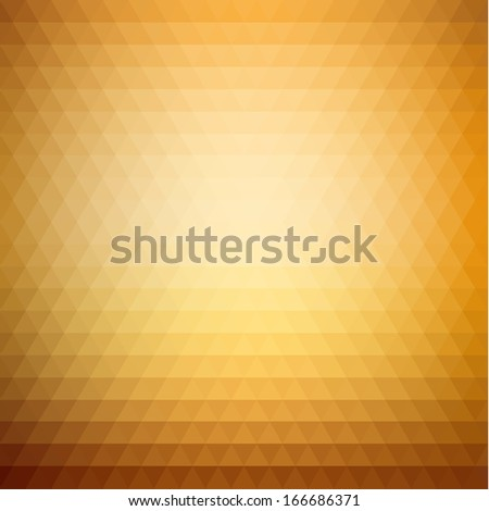 Abstract triangle pattern background - eps10 - stock vector