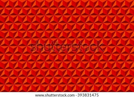 Abstract Triangle Texture Seamless Pattern Red Vector Illustration