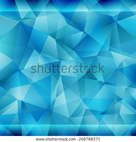 Abstract triangle vector geometric pattern.  - stock vector