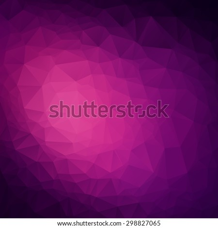 Abstract triangle violet texture background - stock vector