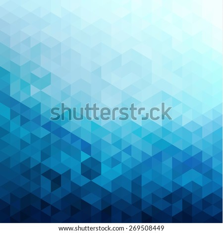 Abstract triangles pattern background - eps10 vector - stock vector