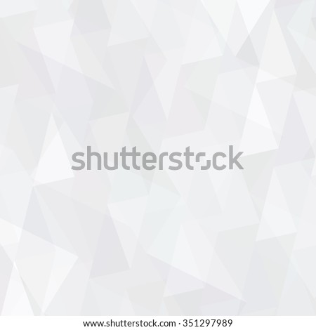 Abstract triangles vector background - stock vector