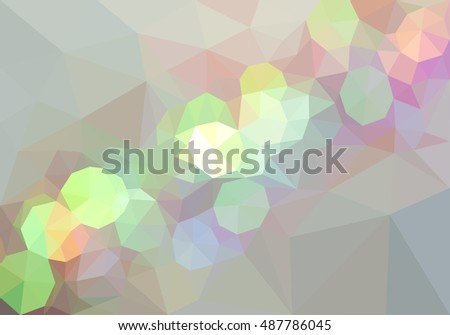 Abstract triangles vector background.