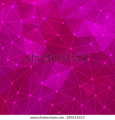 Abstract triangular purple background. Vector design EPS10 - stock vector