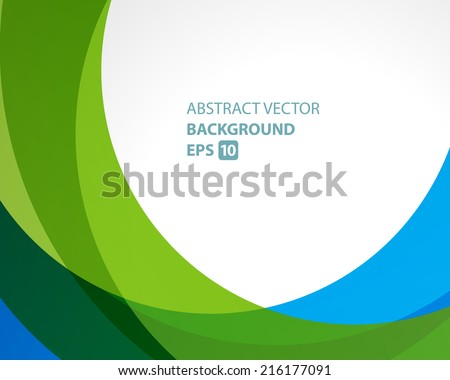 Abstract twist lines waves vector background  - stock vector