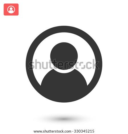 Abstract user icon. Vector Eps - stock vector