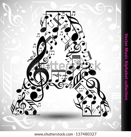 la times sports letters to the editor abstract vector alphabet made notes stock vector 18916