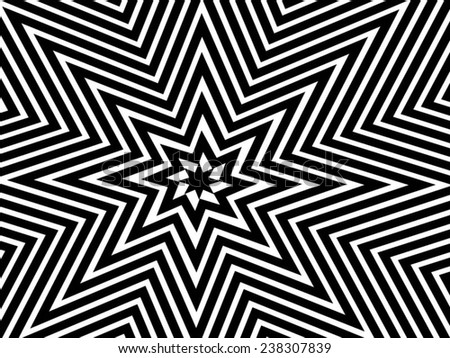 Abstract vector background. Black and white background  - stock vector