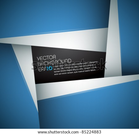 Abstract Vector Background for designers - stock vector