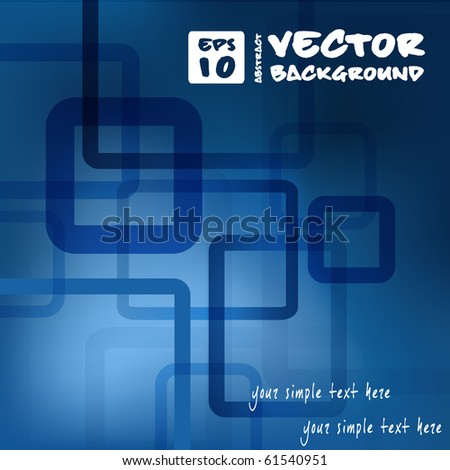 abstract vector background for web design. eps10 - stock vector