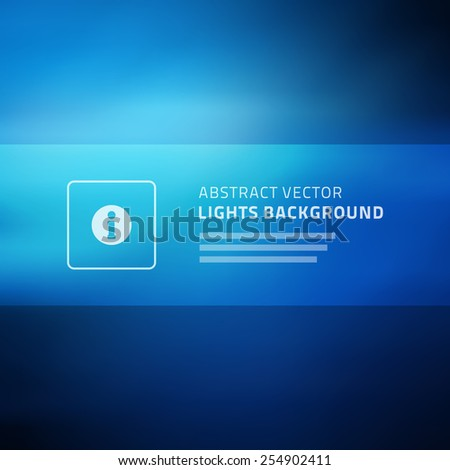 Abstract vector background for website header, banner, presentation or brochure, beautiful blurred light - stock vector