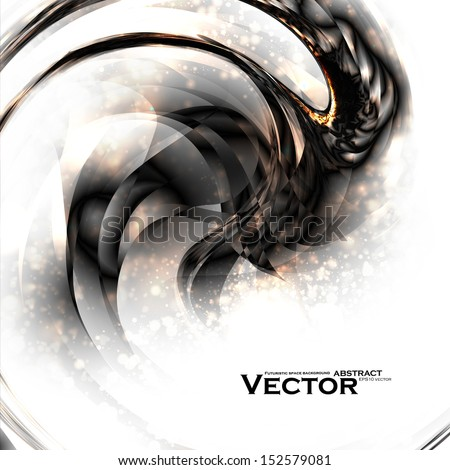 Abstract vector background, futuristic style illustration eps10. - stock vector