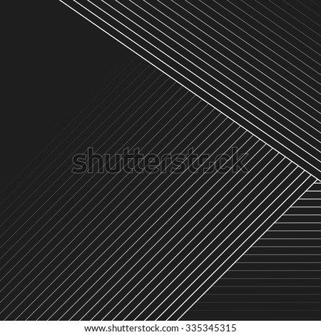 Abstract vector background. Geometric Lines - Creative and Inspiration Design  - stock vector