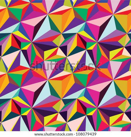 Abstract vector background. Geometric patterns - stock vector