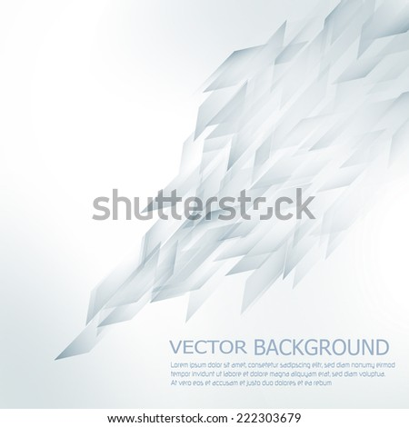 Abstract vector background in techno style - stock vector