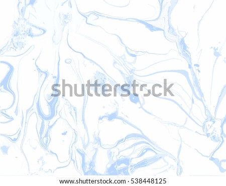 Abstract vector  background. Ink marble texture.