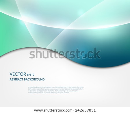 Abstract vector background  message board for text and message design frame line shadow for modern web design - stock vector