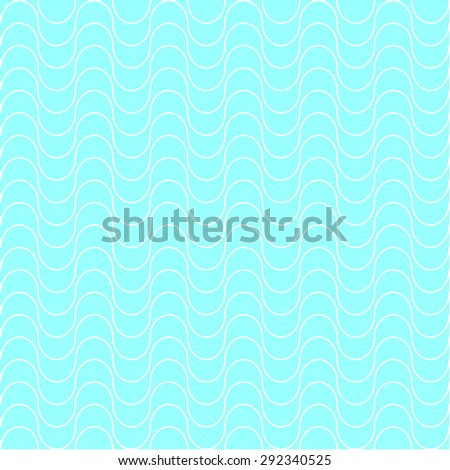 Abstract vector background. Water collection. Seamless wavy pattern. Light blue. Backgrounds & textures shop. - stock vector