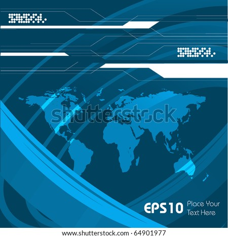 abstract vector background with copy space.Eps10