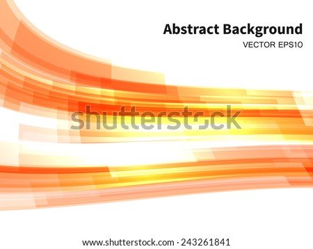 abstract vector background with deformed transparent rectangles