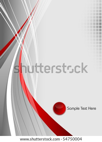 abstract vector background with lines and copy space. Eps10 - stock vector
