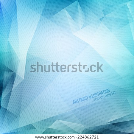 Abstract vector blue background with halftone texture. Vector business background. Technology vector background. Abstract vector art. Abstract vector illustration. - stock vector