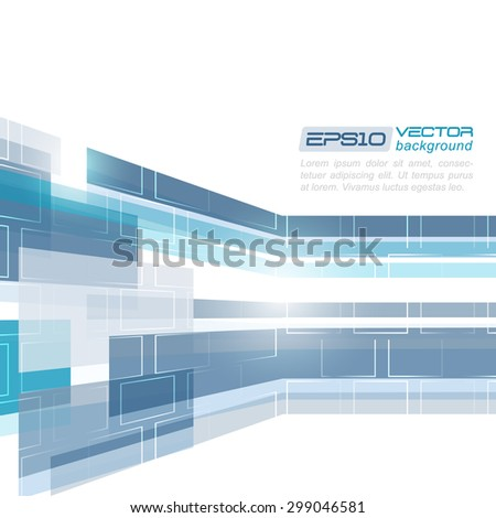 Abstract vector business background. Design with place for your content or creative editing.