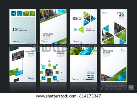 abstract vector business template brochure layout cover modern design annual report poster