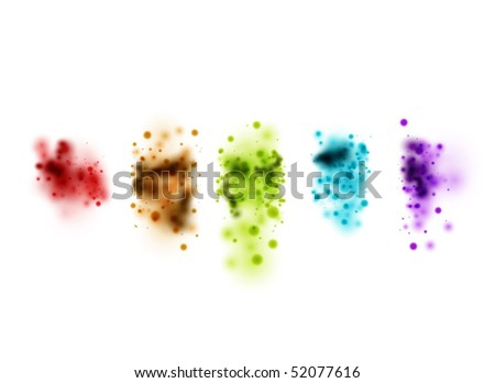 abstract vector design - stock vector