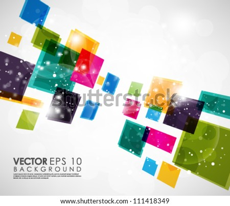 Abstract Vector Design eps 10 - stock vector
