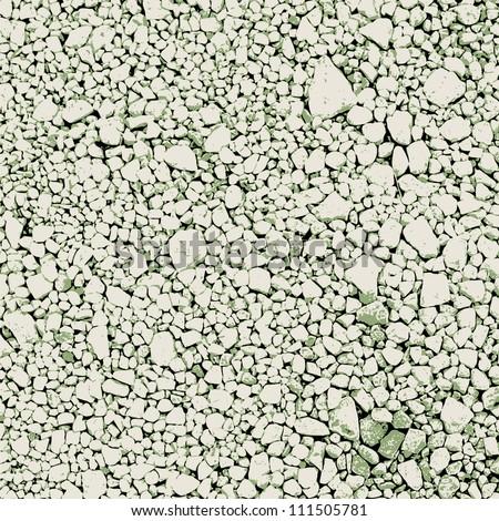 Abstract vector gravel background - stock vector