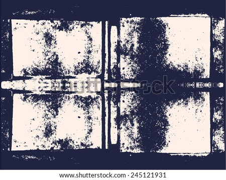 Grunge Camera Effect : Abstract vector grunge background mirror effect stock vector