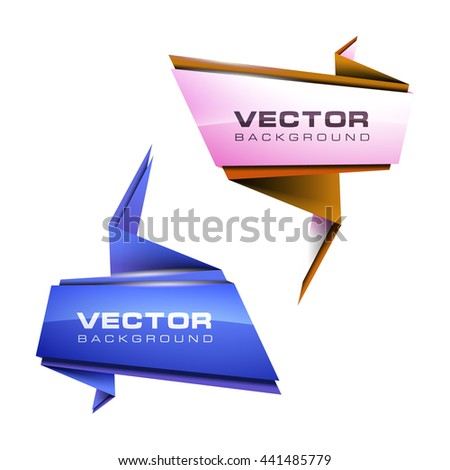 Abstract vector illustration banner