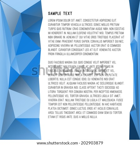 Abstract Vector Layout
