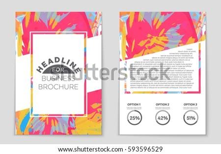 Travel Stationary Template Brochure Design Cd Stock Vector ...